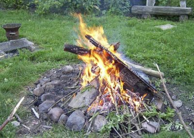 angebote auf dem hof - Lagerfeuerromantik